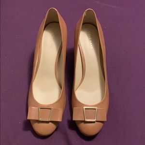 NWOT Cole Haan Grand OS leather pumps